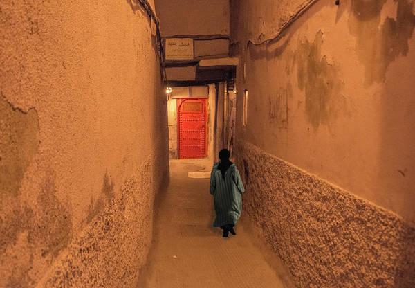 Photograph - Red Door In Marrakech by Jessica Levant