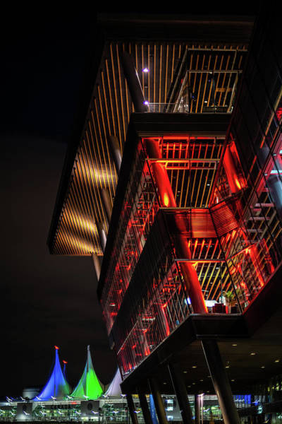 Photograph - Red For Ted At The Convention Centre by Ross G Strachan