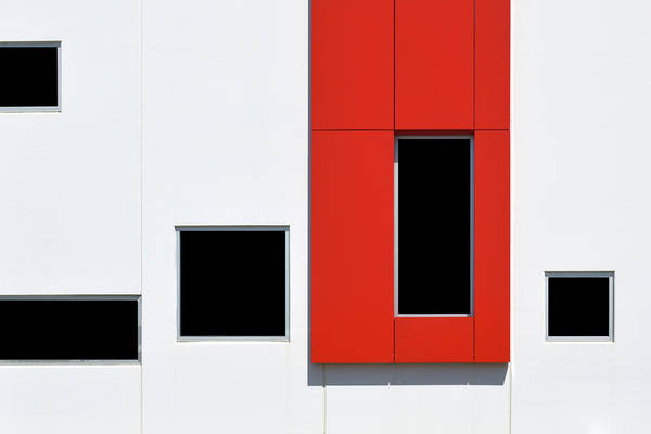 Photograph - Red Frame 2 by Stuart Allen