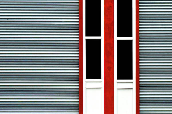 Photograph - Red Frame 3 by Stuart Allen