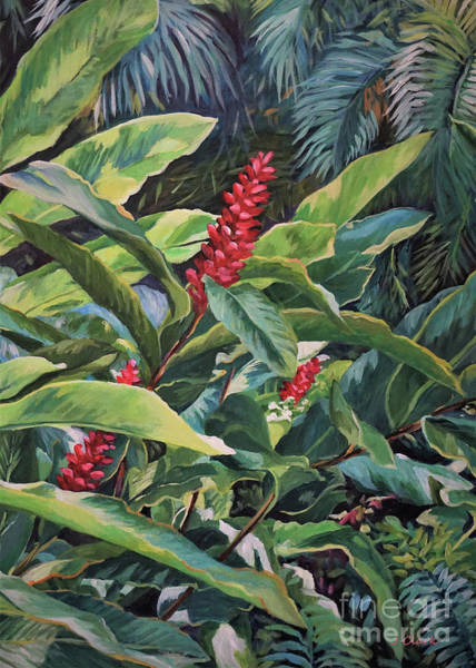 Wall Art - Painting - Red Ginger by John Clark