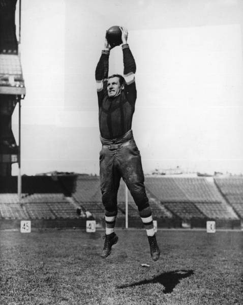 American Football Photograph - Red Grange by American Stock Archive