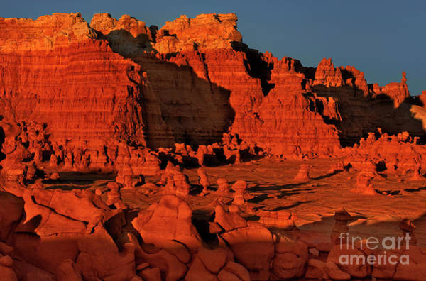 Photograph -  Red Hoodoos In Goblin Valley Utah by Dave Welling
