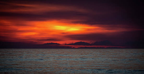Photograph - Red Hot Sunrise by Lora J Wilson