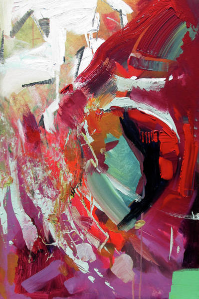 Painting - RED by John Jr Gholson