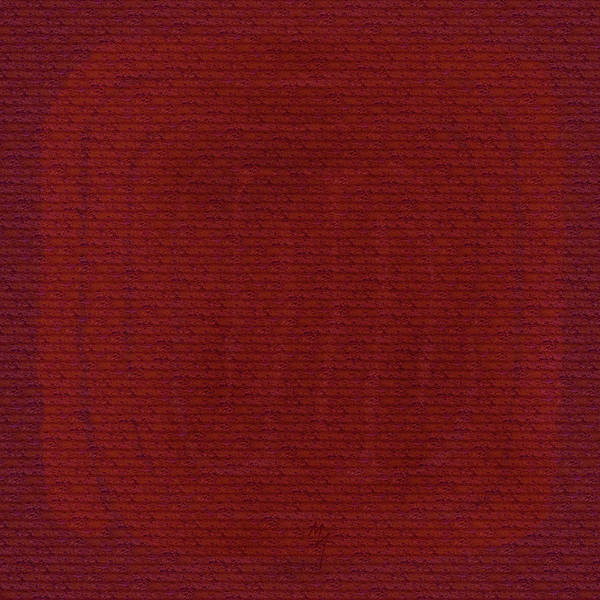 Painting - Red Labyrinth by Attila Meszlenyi