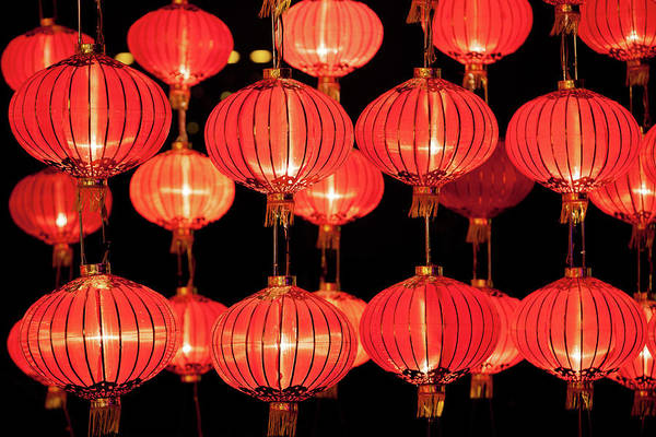 Chinese New Year Photograph - Red Lanterns by Winhorse