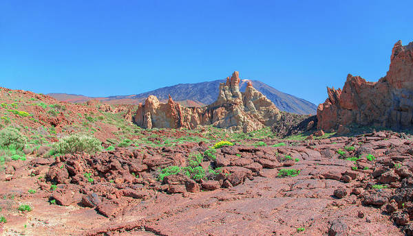 Photograph - Red Lava Rock In The Teide National Park by Sun Travels
