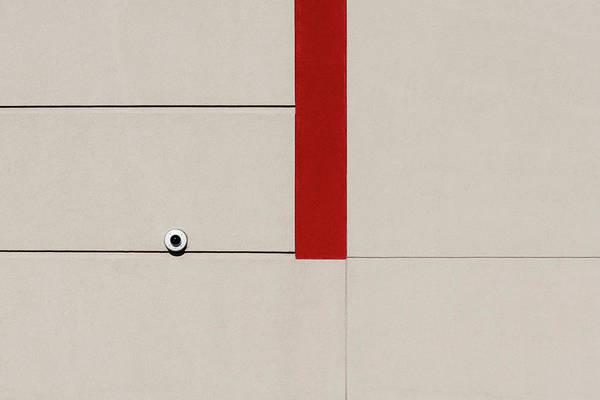 Photograph - Red Line by Stuart Allen