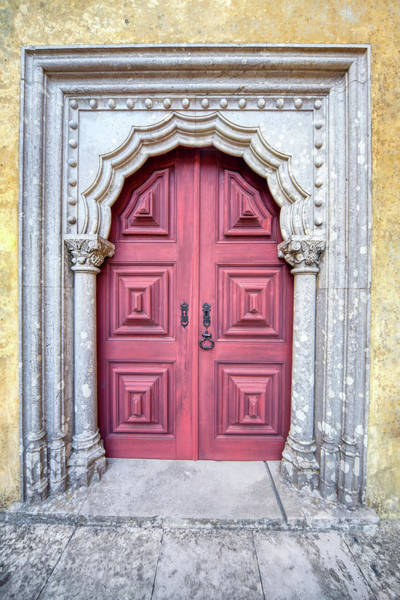 Photograph - Red Medieval Door by David Letts