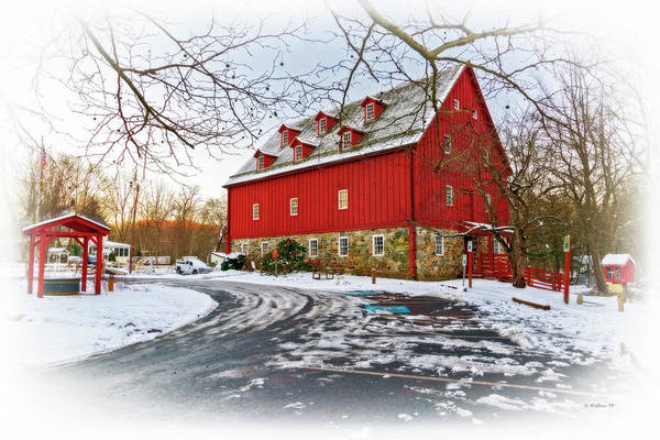 Kingsville Photograph - Red Mill by Brian Wallace