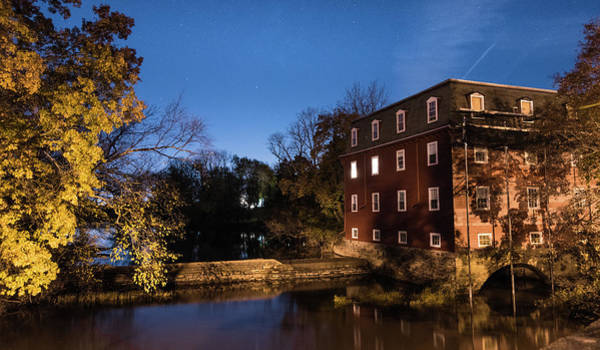 Photograph - Red Mill by Kristopher Schoenleber