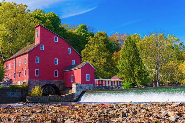 Photograph - Red Mill Photograph by Louis Dallara