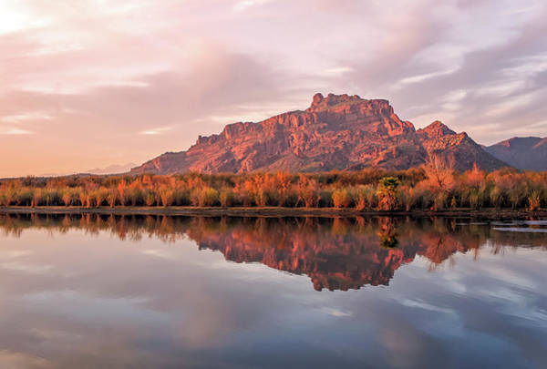 Photograph - Red Mountain Reflection by Dawn Richards