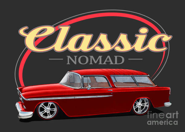 Nomad Mixed Media - Red Nomad by Paul Kuras