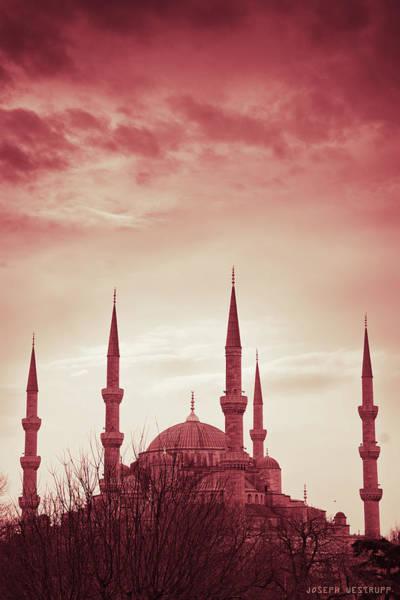 Minarets Photograph - Red Peace by Joseph Westrupp