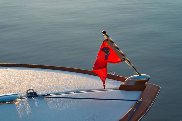 Photograph - Red Pennant by Tom Gresham