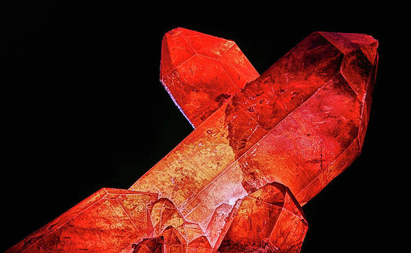 Photograph - Red Quartz by JC Findley