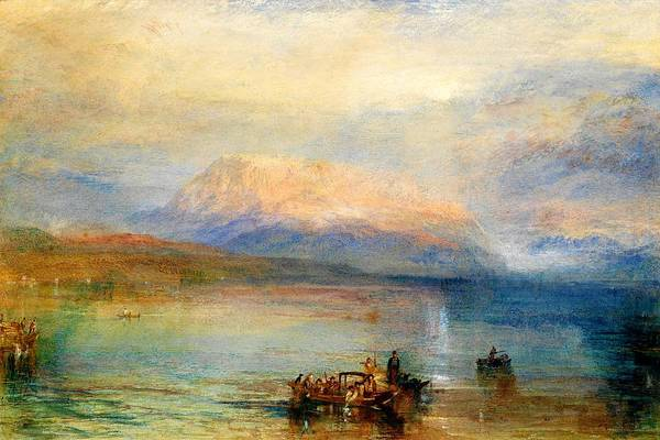 Wall Art - Painting - Red Rigi Mountain - Digital Remastered Edition by William Turner