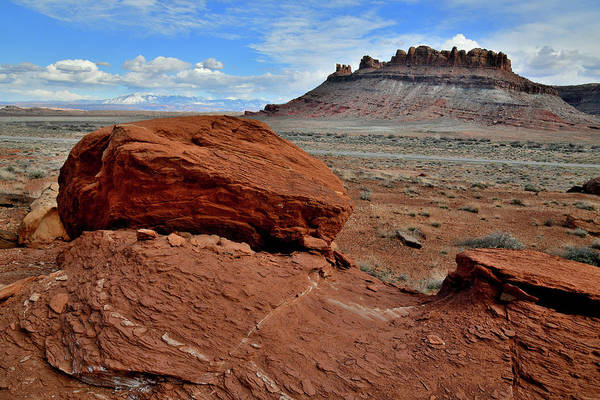 Photograph - Red Rock Along Highway 313 by Ray Mathis