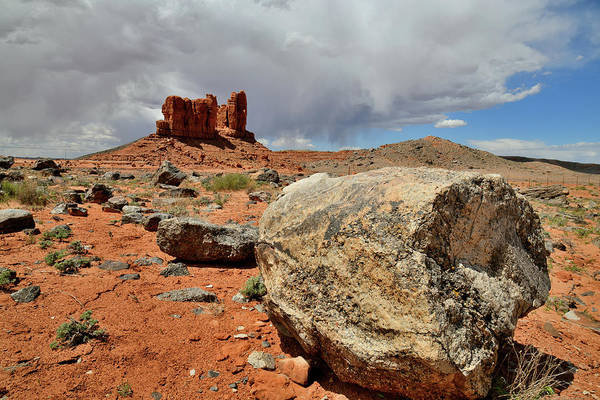 Photograph - Red Rock Desert Along Utah Highway 191 by Ray Mathis