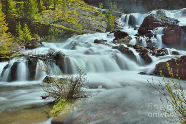 Wall Art - Photograph - Red Rock Falls Base by Adam Jewell