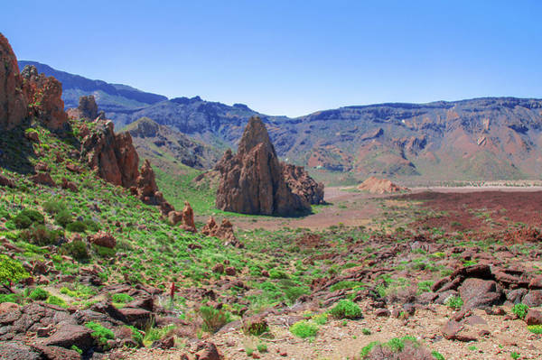Photograph - Red Rock Inside Of Caldera Las Canadas by Sun Travels