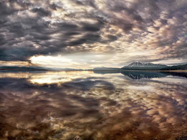 Photograph - Red Rock Lake Sunrise by Leland D Howard