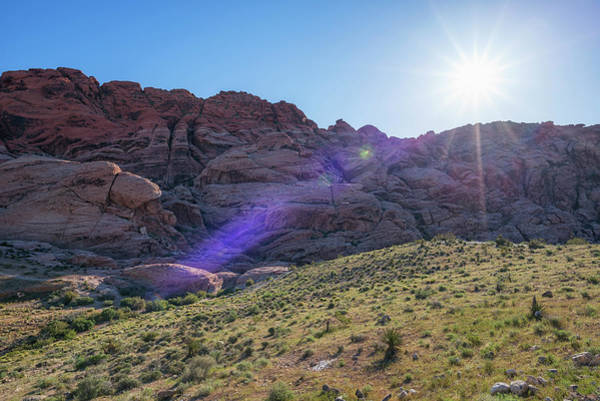 Photograph - Red Rock Morning #1 by Joseph S Giacalone