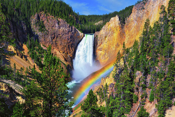 Photograph - Red Rock Rainbow by Greg Norrell