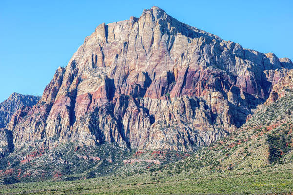Photograph - Red Rock Rocks #3 by Joseph S Giacalone