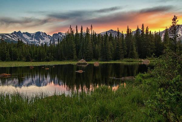 Photograph - Red Rock Sunset by Darlene Bushue
