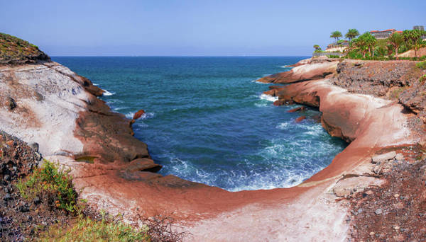 Photograph - Red Rocky Bay In Costa Adeje by Sun Travels