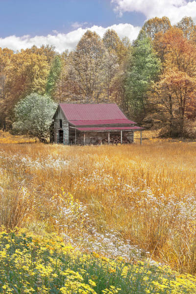 Photograph - Red Roof Country Charm by Debra and Dave Vanderlaan