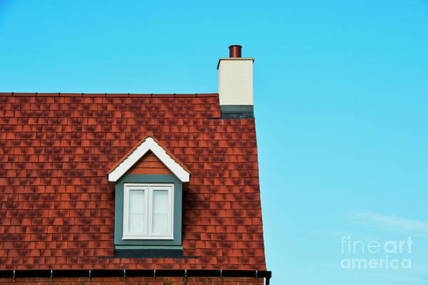Photograph - Red Roof by Tim Gainey