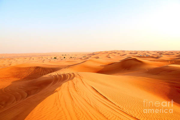 Wall Art - Photograph - Red Sand Arabian Desert Near Dubai by Fedor Selivanov