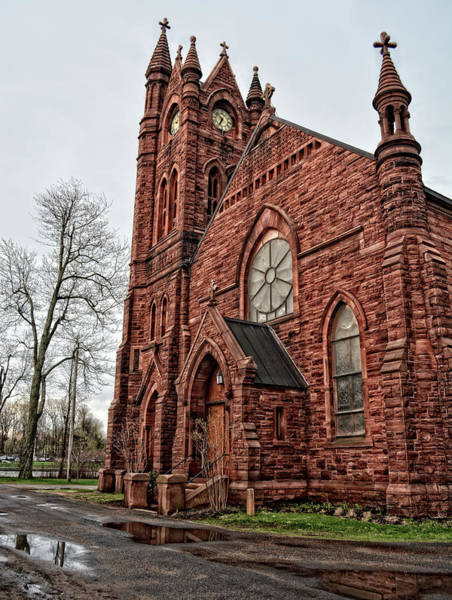 Photograph - Red Sandstone Church by Maggy Marsh