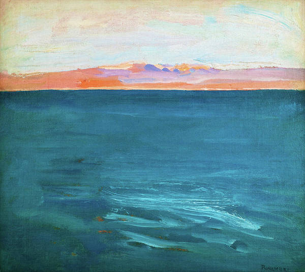 Wall Art - Painting - Red Sea, Suez - Digital Remastered Edition by Akseli Gallen-Kallela