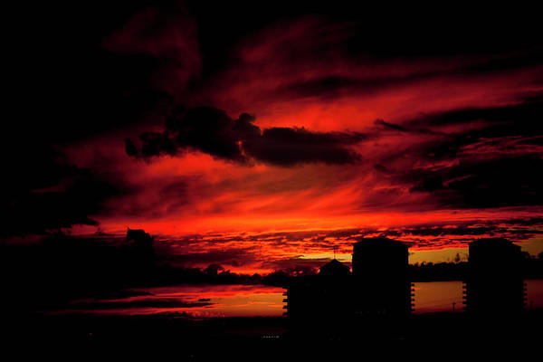 Photograph - Red Sky by Eric Christopher Jackson
