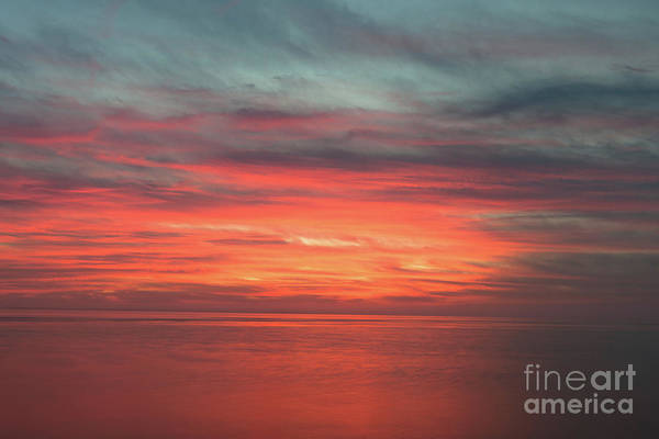 Photograph - Red Sky - Sailors Delight by Dale Powell
