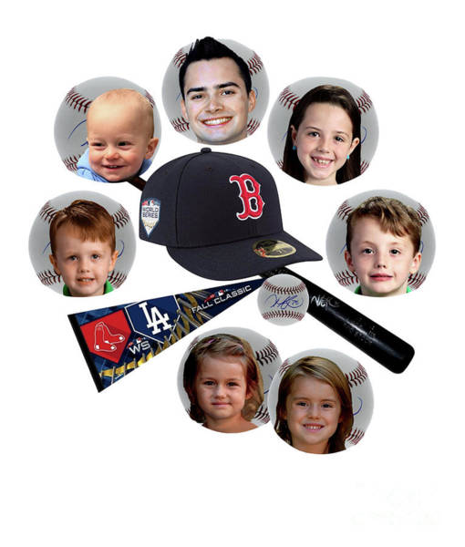 Family Portrait Wall Art - Photograph - Sports Fans by Laurie Haas