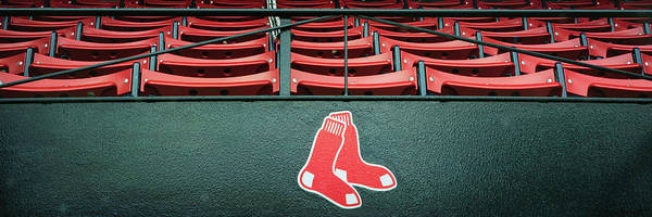 Photograph - Red Sox Fenway Park Seats by Joann Vitali