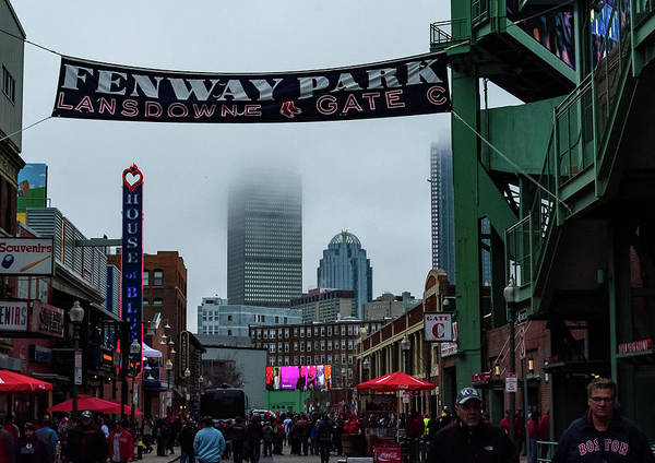 Photograph - Red Sox Hype by Christina Maiorano