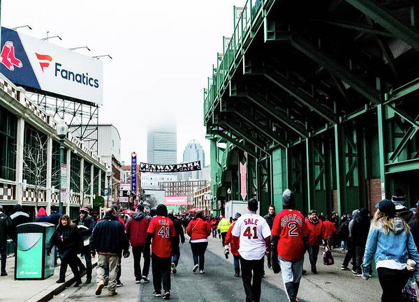 Photograph - Red Sox Opener by Christina Maiorano
