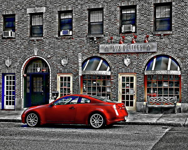 Photograph - Red Sports Car by Anthony Dezenzio