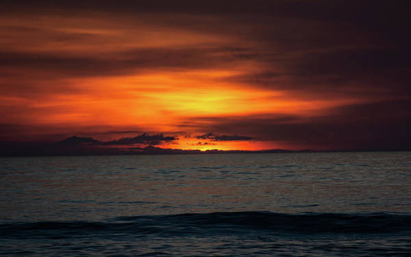 Photograph - Red Sunrise by Lora J Wilson