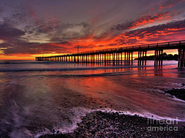 Photograph - Red Sunset by Beth Sargent