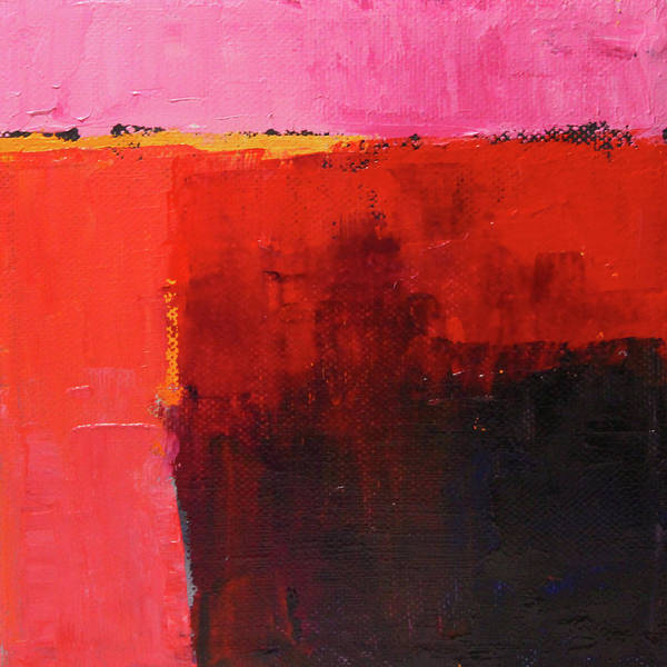 Painting - Red Tide Abstract by Nancy Merkle