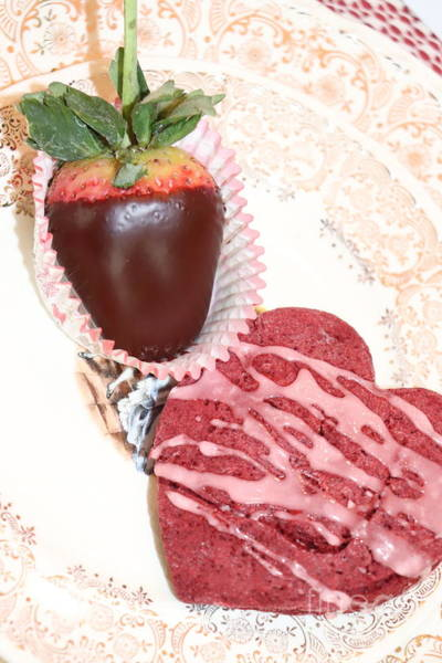 Photograph - Red Velvet Edible Art by Laurel Adams