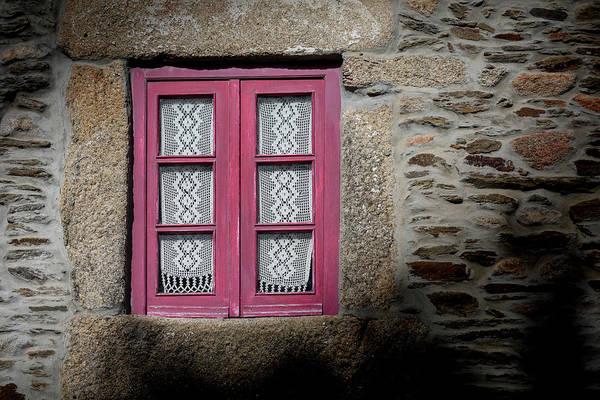 Photograph - Red Window by Edgar Laureano